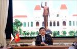 TP Hồ Chí Minh và tỉnh Aichi (Nhật Bản) tăng cường hợp tác qua gặp gỡ trực tuyến