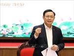 Thường trực Thành ủy Hà Nội làm việc với Ban cán sự đảng Bộ Kế hoạch và Đầu tư