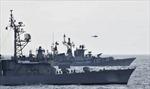 Ấn Độ và Nhật Bản diễn tập hải quân chung