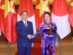 Chủ tịch Quốc hội Nguyễn Thị Kim Ngân hội kiến Thủ tướng Nhật Bản Suga Yoshihide