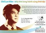 100 năm Ngày sinh Chế Lan Viên: Nhà thơ lớn của thi ca Việt Nam hiện đại