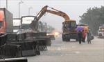Cục Cảnh sát giao thông đôn đốc công tác phòng, chống cơn bão số 8