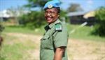 Gương mặt giành Giải thưởng Nữ cảnh sát Liên hợp quốc 2020