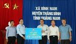Chính quyền, Mặt trận Tổ quốc cần phối hợp, tích cực giúp nhân dân vùng thiên tai ở Quảng Nam
