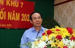 Hội nghị phiên cuối năm 2020 của Đảng ủy Quân khu 7