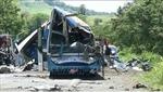 Ít nhất 16 người thiệt mạng trong vụ tai nạn do xe buýt bị hỏng phanh