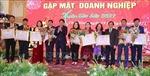 Cộng đồng doanh nghiệp Thái Bình tặng quà Tết tới các gia đình chính sách