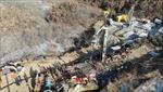 Khẩn trương giải cứu nhóm thợ mỏ mắc kẹt trong lòng đất ở Trung Quốc