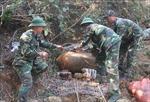 Sơn La: Hủy nổ thành công quả bom nặng khoảng 600 kg