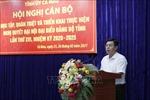 Cà Mau sớm đưa Nghị quyết Đại hội Đảng bộ tỉnh vào cuộc sống