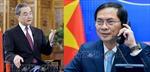 Bộ trưởng Ngoại giao Bùi Thanh Sơn điện đàm với Ủy viên Quốc vụ, Bộ trưởng Ngoại giao Trung Quốc