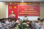 Đoàn đại biểu Quốc hội tỉnh Bến Tre tiếp xúc với lãnh đạo các sở, ngành, địa phương