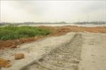 Xử lý dứt điểm vi phạm tập kết cát, sỏi tại ngã ba sông Cầu - sông Công