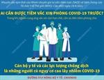 Ai được tiêm vaccine phòng COVID-19 trước?