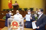 Phê chuẩn, bổ nhiệm 4 Thẩm phán Tòa án nhân dân tối cao