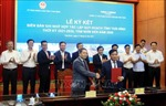 Ký kết hợp tác quy hoạch tỉnh Thái Bình thời kỳ 2021 - 2030