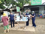 Hiệu quả mô hình chống dịch COVID-19 của phụ nữ xã Xuân Phú