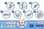 Cách tháo găng tay sau khi chăm sóc người bệnh mắc COVID-19