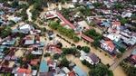 Hỗ trợ người dân huyện Quỳnh Lưu khắc phục hậu quả mưa lũ