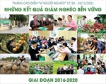 Tháng cao điểm 'Vì người nghèo' 17/10 - 18/11/2021: Những kết quả giảm nghèo bền vững