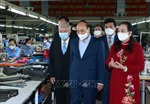 Chủ tịch nước Nguyễn Xuân Phúc thăm các doanh nghiệp tiêu biểu do người cao tuổi quản lý, điều hành
