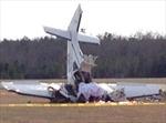 Rơi máy bay hạng nhẹ ở Ấn Độ, 5 người thiệt mạng
