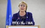 Bà Bachelet được bầu làm người đứng đầu cơ quan nhân quyền của LHQ
