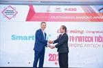"""Ví điện tử SmartPay nhận Giải thưởng  """"Công ty fintech tiêu biểu 2020"""""""