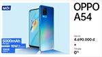 OPPO A54 chính thức lên kệ tại Việt Nam: Pin lớn 5000mAh, sạc siêu nhanh 18W