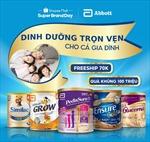 Abbott và Shopee khuyến khích người Việt ăn uống hợp lý, sống lành mạnh