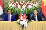 Tuyên bố chung Việt Nam - Indonesia về tăng cường quan hệ Đối tác chiến lược