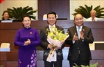 Ông Nguyễn Mạnh Hùng giữ chức vụ Bộ trưởng Bộ Thông tin và Truyền thông
