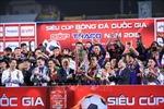Đánh bại Becamex Bình Dương 2-0, Hà Nội FC giành Siêu Cúp quốc gia