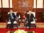 Tổng Bí thư, Chủ tịch nước Nguyễn Phú Trọng hội đàm với Tổng thống Argentina Mauricio Macri
