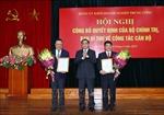 Công bố quyết định về công tác cán bộ tại Đảng ủy khối Doanh nghiệp Trung ương