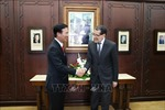 Đồng chí Võ Văn Thưởng tiếp kiến và làm việc với Thủ tướng và Chủ tịch Hạ viện Maroc