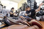 Giày da Việt Nam thu hút các bạn hàng quốc tế