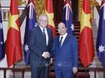 Thủ tướng Nguyễn Xuân Phúc chủ trì Lễ đón Thủ tướng Australia Scott Morrison