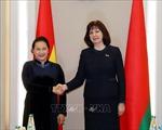 Chủ tịch Quốc hội Nguyễn Thị Kim Ngân hội đàm với Chủ tịch Thượng viện Belarus
