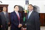 Trưởng Ban Tổ chức Trung ương Phạm Minh Chính thăm, làm việc tại Tanzania