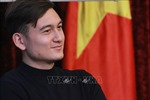 Cộng đồng người Việt tại Nga giao lưu với thủ môn Đặng Văn Lâm