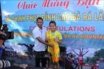 'Cô gái vàng' Nguyễn Thị Oanh đoạt giải 'Nữ hoàng leo núi' Bà Rá