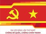 Đại hội Đảng lần thứ nhất: Chống đế quốc, chống chiến tranh
