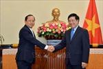 Bảo đảm thông thương hàng hóa trên toàn tuyến biên giới Việt Nam - Campuchia