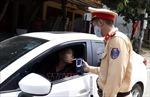 Ba lái xe bị xử phạt tổng cộng 110 triệu đồng do vi phạm về nồng độ cồn
