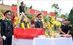 Tổ chức truy điệu và an táng hài cốt 17 liệt sỹ được tìm thấy tại huyện Phước Sơn,Quảng Nam