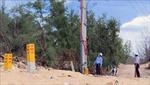 Dự án cấp điện cho đảo Nhơn Châu chậm tiến độ do vướng mắc giải phóng mặt bằng