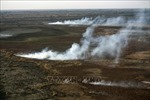 Cháy rừng đe dọa nghiêm trọng một trong những châu thổ lớn nhất thế giới