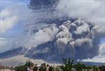Núi lửa Sinabung ở Indonesia phun trào khói bụi cao 5 km