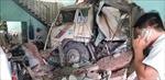 Xe ben lao vào 3 nhà dân tại Bình Dương, nhiều người bị thương